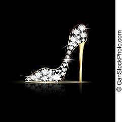 cadena, shoes