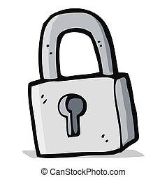cadenas, dessin animé