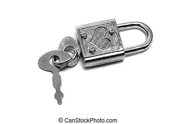 cadenas, forme coeur