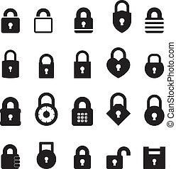 cadenas, icône