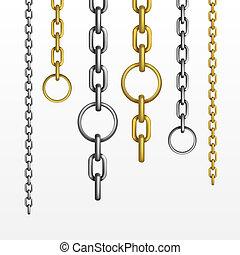 cadenas, vector, conjunto