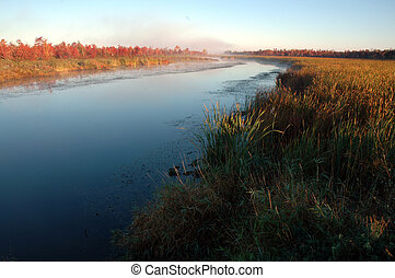 cadere, fiume