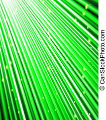cadere, rays., sfondo verde, stelle