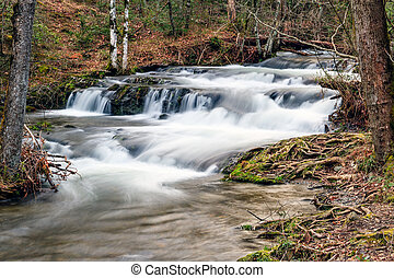 Cades Cove Cascade - Cascade on Mill Creek near the west end...