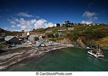 Cadgwith cove Lizard peninsula Cornwall