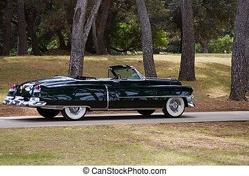 Cadillac - Old presidential cadillac car.