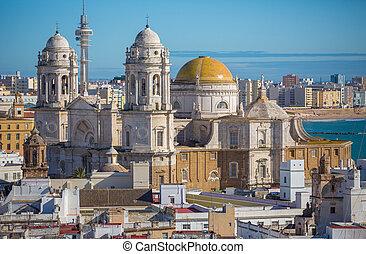 cadiz , καθεδρικόs ναόs
