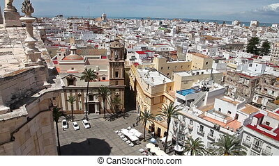 Cadiz Aerial view