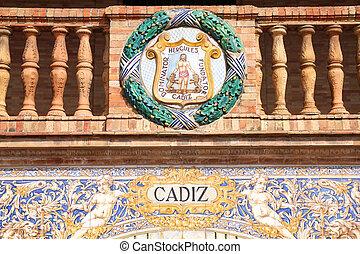 Cadiz coat of arms
