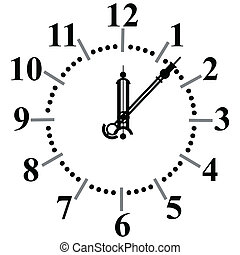 cadran, montre