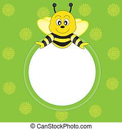 cadre, abeille