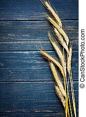 cadre, blé