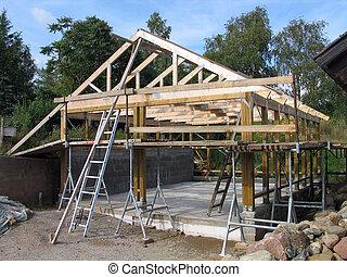 cadre bois, construction