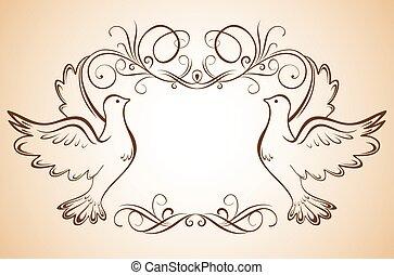 Cliparts et illustrations de colombes 16 372 dessins et illustrations libres de droits de - Dessin colombe gratuit ...