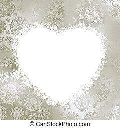 cadre, dans, les, forme, de, heart., eps, 8