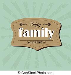 cadre, famille
