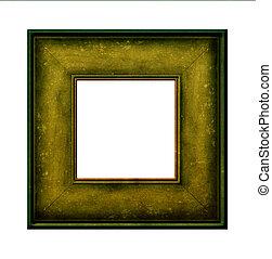 cadre graphique, bois