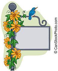 cadre, jardin