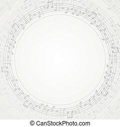 cadre, musique