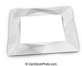 cadre, papier