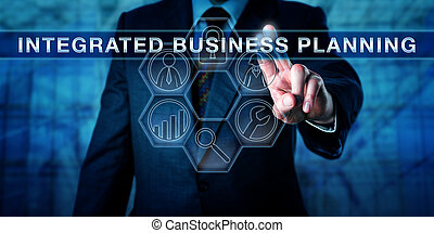 cadre, planification, urgent, intégré, business
