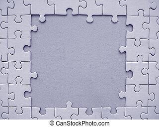 cadre, puzzle