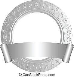 cadre, rouleau, circulaire