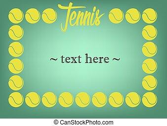 cadre, tennis