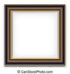 cadre, vecteur, pour, photo, ou, image