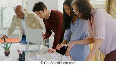 cadres, fonctionnement, table, 4k, bureau