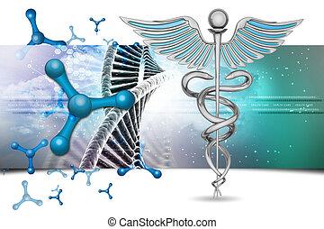 caduceo, simbolo medico