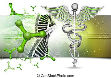 caduceus , ιατρικός σύμβολο
