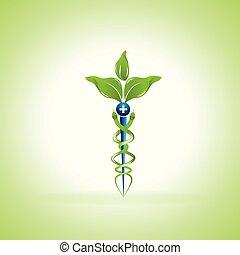 Caduceus Alternative Medicine Symbol - Caduceus medical ...