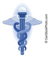 caduceus, grekisk symbol, -