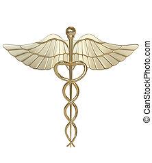 Caduceus-medical symbol