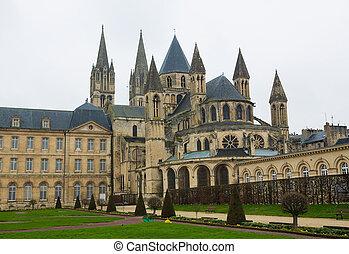 Caen - Abbaye aux Hommes (Men's Abbey) in Caen, Calvados,...