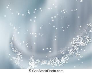 caer, nieve