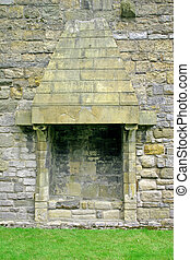 Caernarfon Castle Fireplace in North Wales