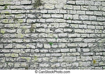 Caernarfon Castle Wall in North Wales