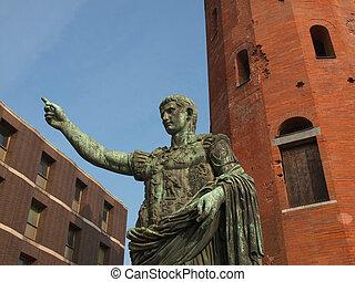 Caesar Augustus statue