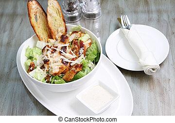 caesar salad with chicken