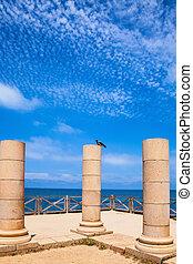 Caesarea, ancient columns