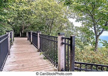 caesars head mountain bridge wilderness area in south ...