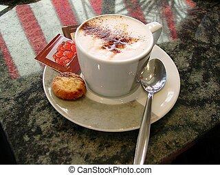 Café Mocha - This is a nice hot cup of café mocha coffee...