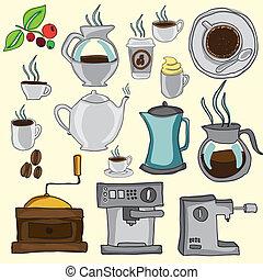 café, ícones