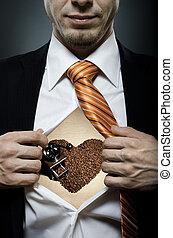 café, amant