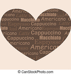 café, amor