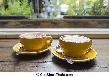 café, apprécier, café