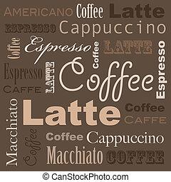 café, arte