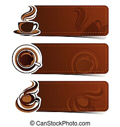 café, bandeira